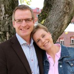 Agape-keskuksen johtajat Jan ja Joy Cedercreutz